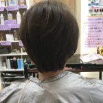 クセ毛のキュビズムカット