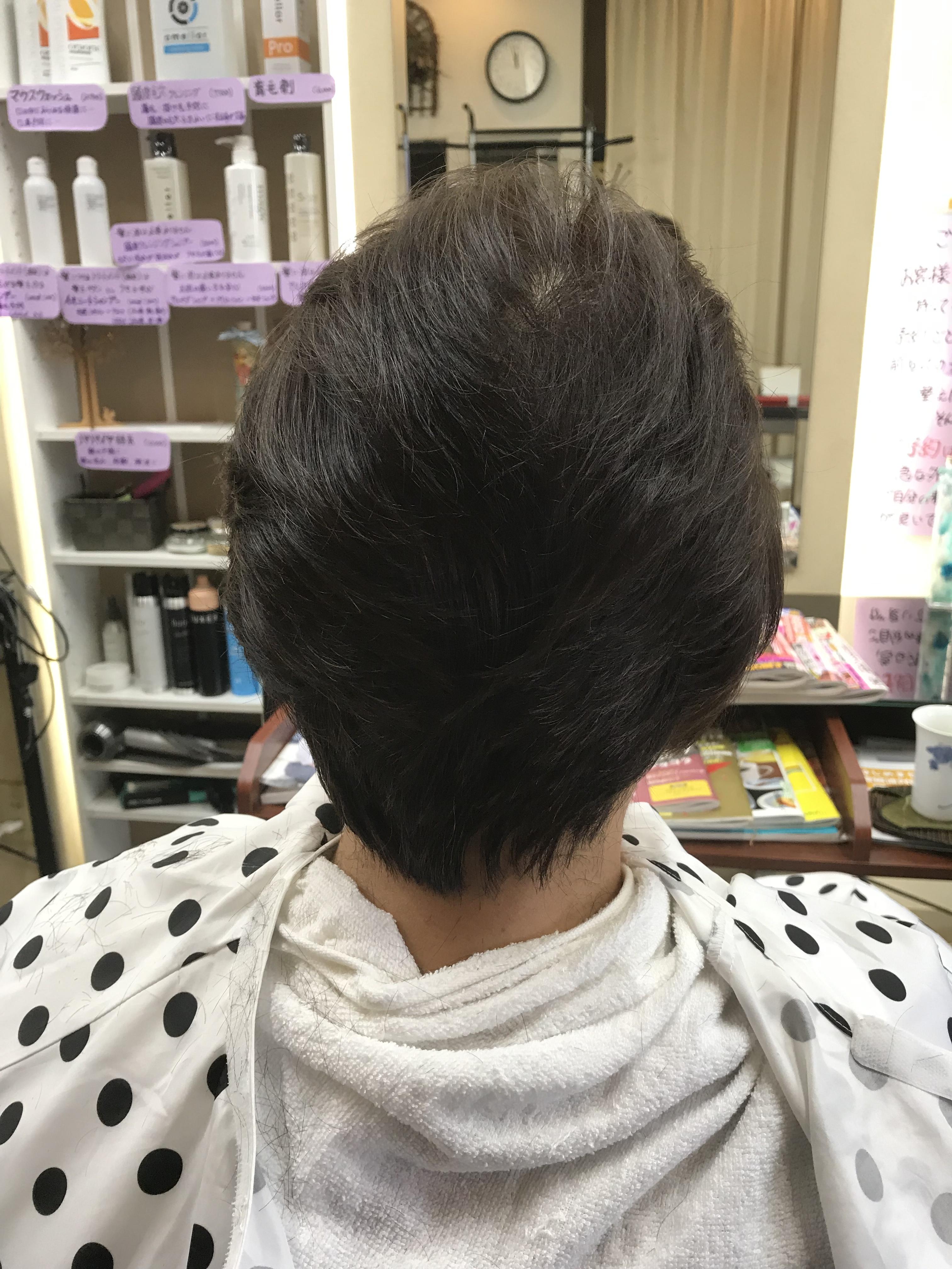 2度目のキュビズムカット〜クセ毛〜