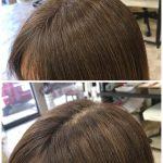 8ヶ月カット無し、美髪再生デトックストリートメントの効果❣️