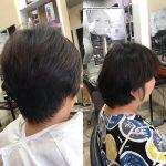 くせ毛の悩み、頭の形の悩み、髪が重たいを改善❣️