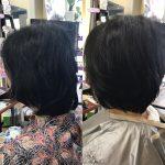 髪型は、直線と曲線をどう描くかでイメージが作られます❣️