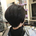 剛毛、多毛、くせ毛を『乾かすだけでまとまる』にこだわって、すきバサミ無しで作るキュビズムカット❣️