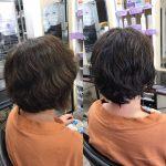 髪の根元が立ち上がれば、スタイルは簡単に決まるのです❣️