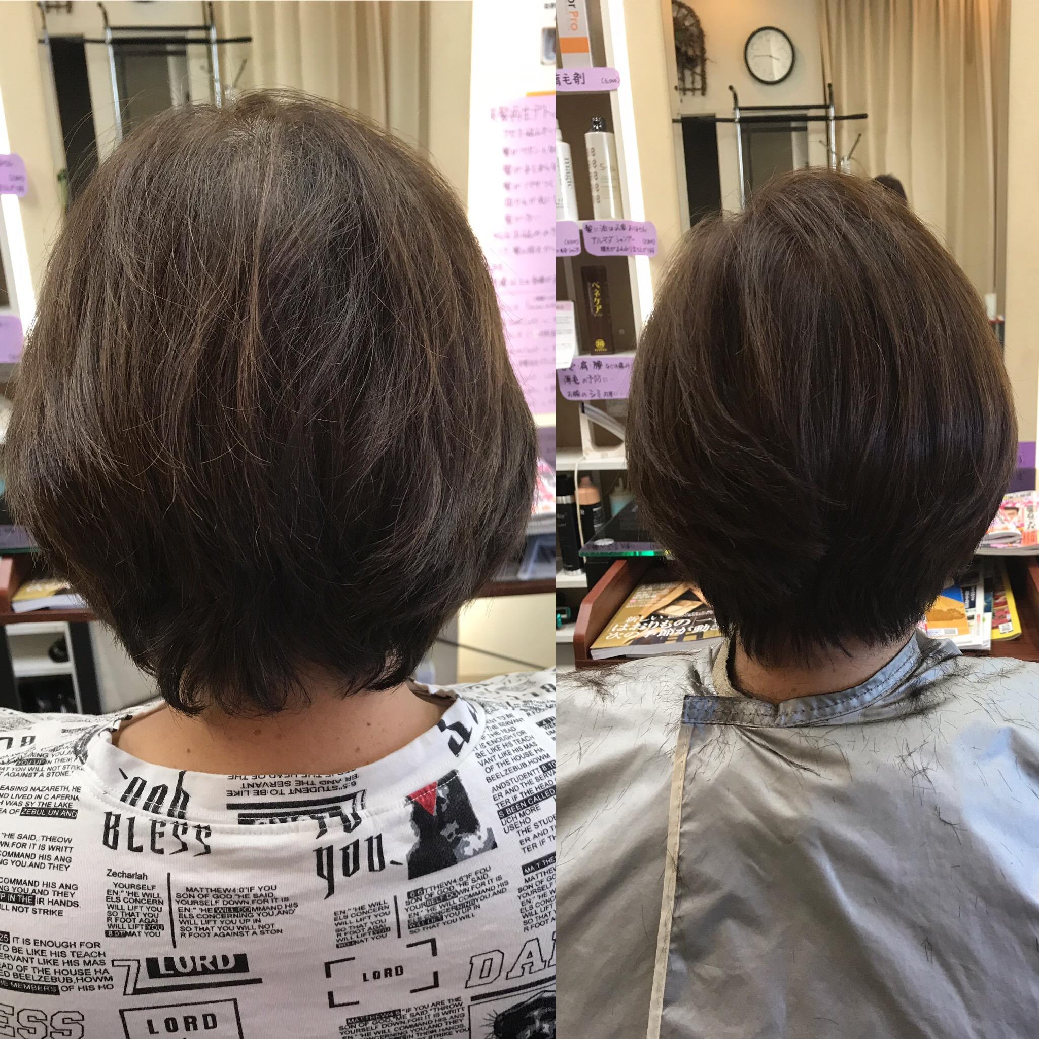 あなたのヘアスタイルはトップが立ち上がっていますか?