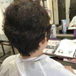 髪の悩みを改善、ショートヘアのパーマ💕