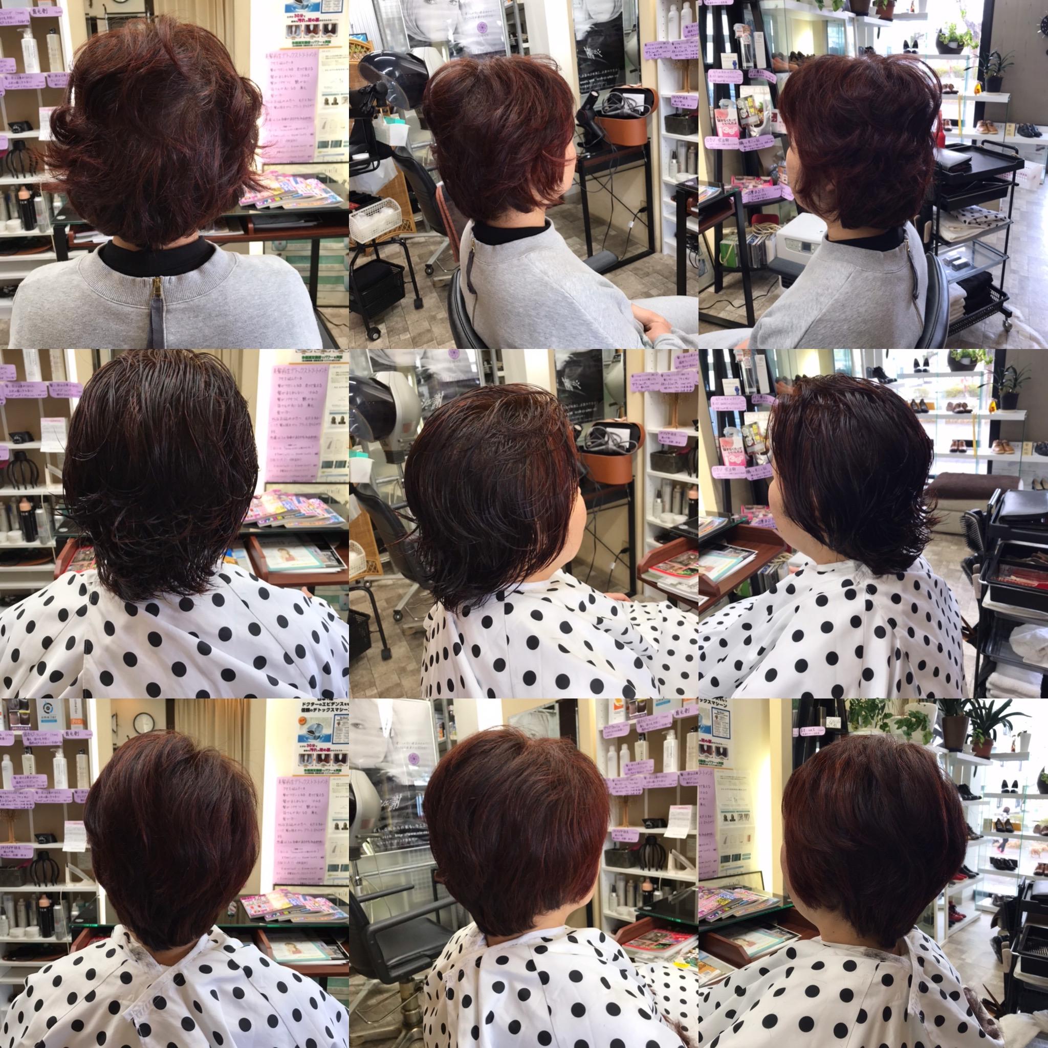 伸びてもまとまりが良い、お手入れ簡単なくせ毛カットが好きなんです