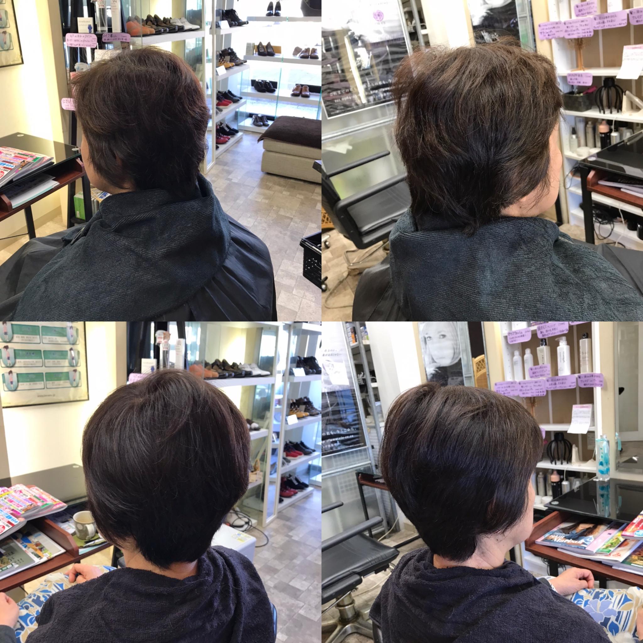 跳ねる、ペタンコになるという髪の悩みを改善するカットと乾かし方