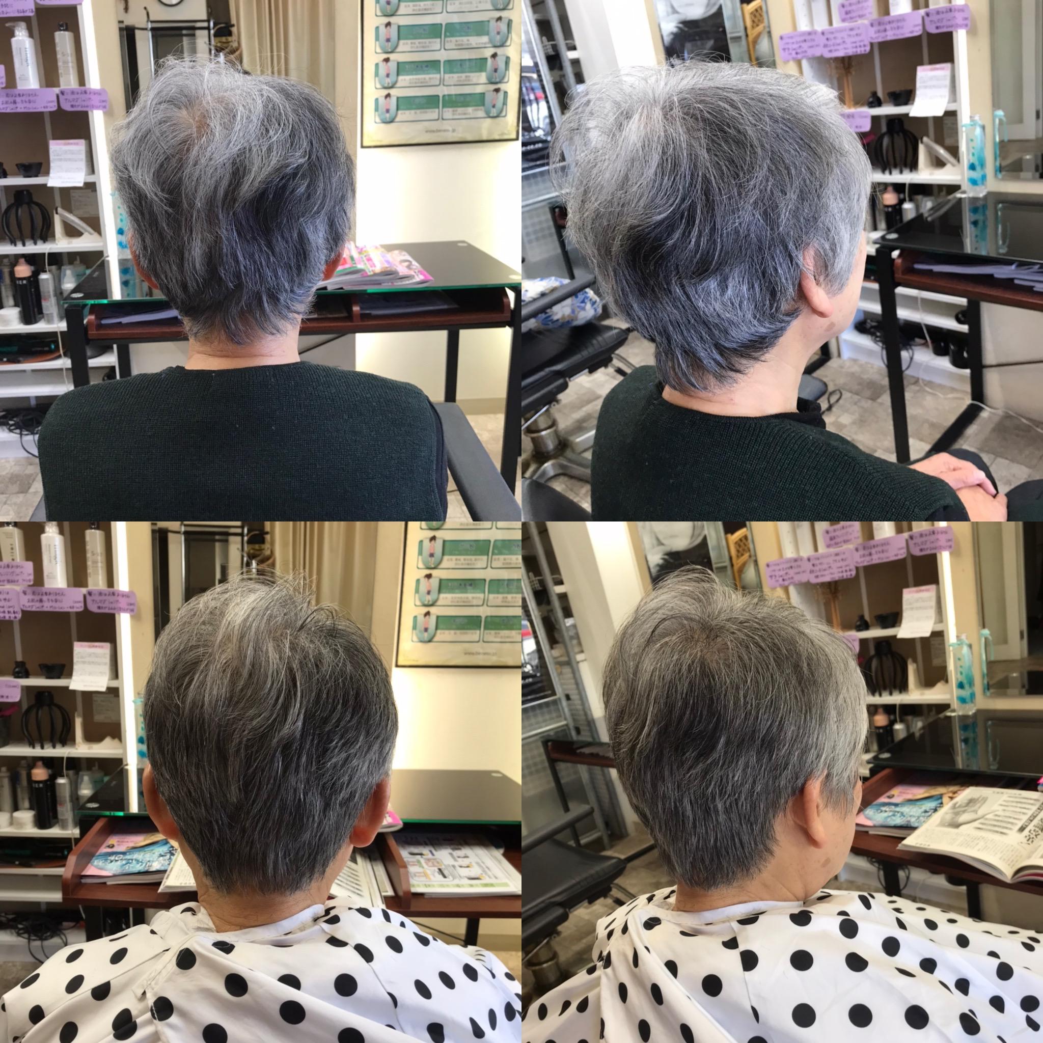 幾つになっても、髪の悩みは改善出来ます