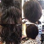 くせ毛のカット方法、キュビズムカットの履歴