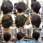 くせ毛のお客様の変化②