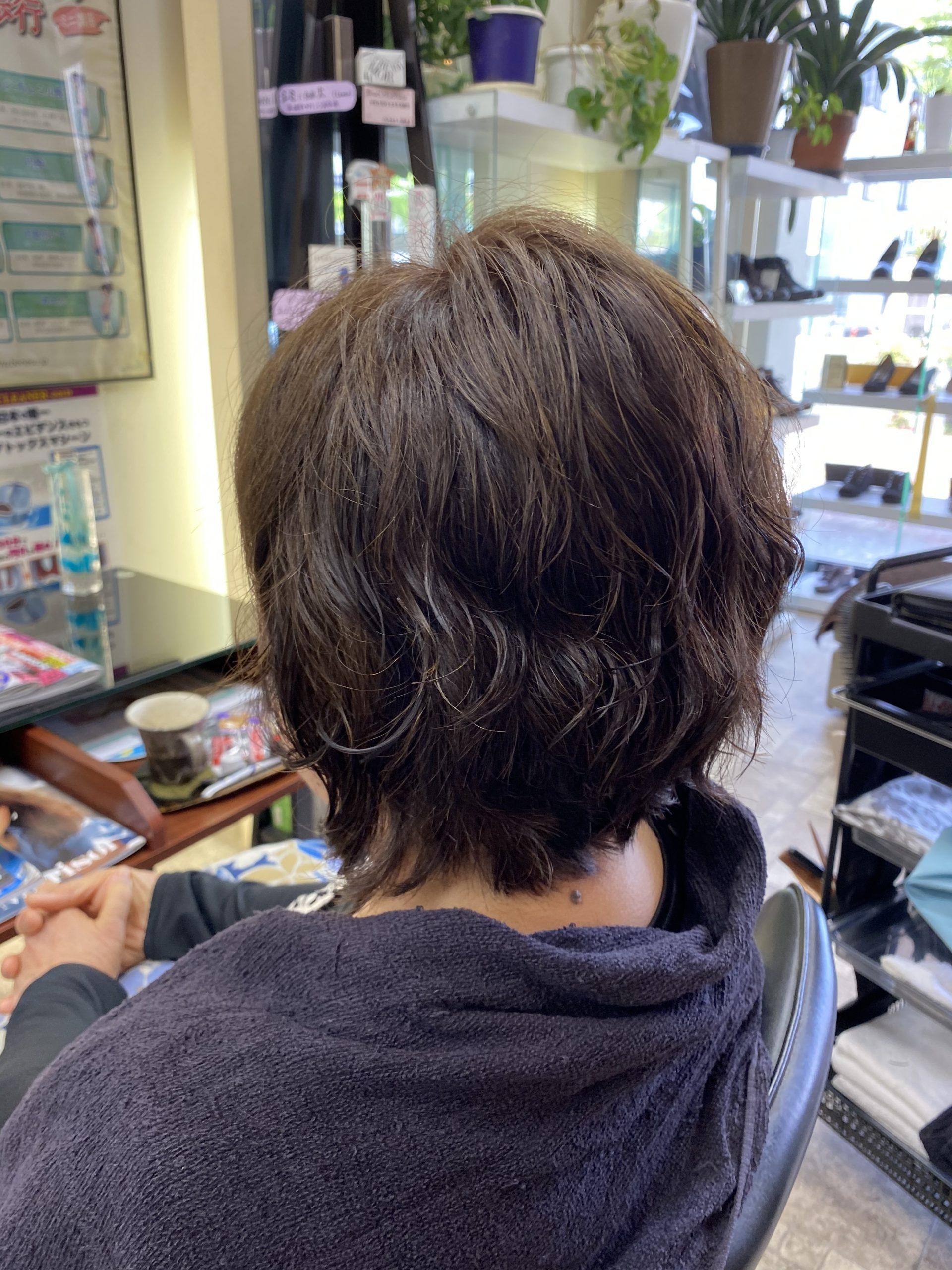 髪質で出来ないと思っていた事は間違いでした