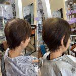 白髪ぼかしと髪質改善