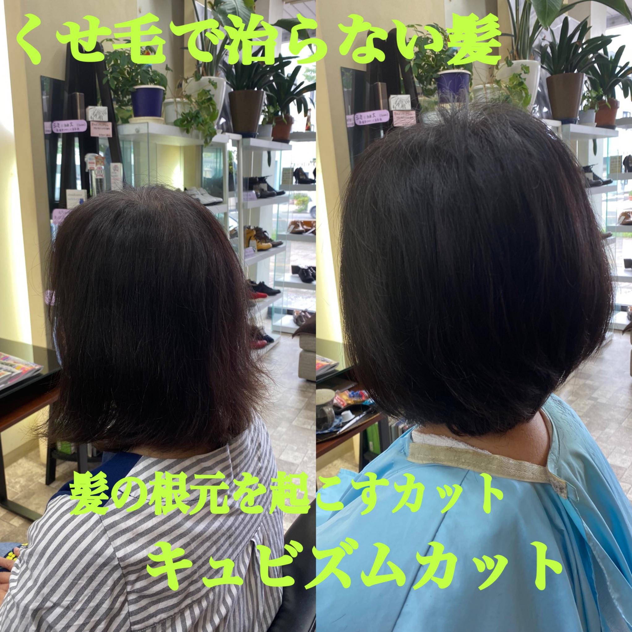 髪の悩み改善メニュー