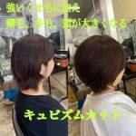 髪が多い、強いくせ、広がる髪を抑えるやり方は、かえって広がる髪を作ります。