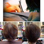 キュビズムカットが出来る事は、髪の悩みの改善