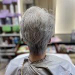 白髪の長所を生かすパーマ
