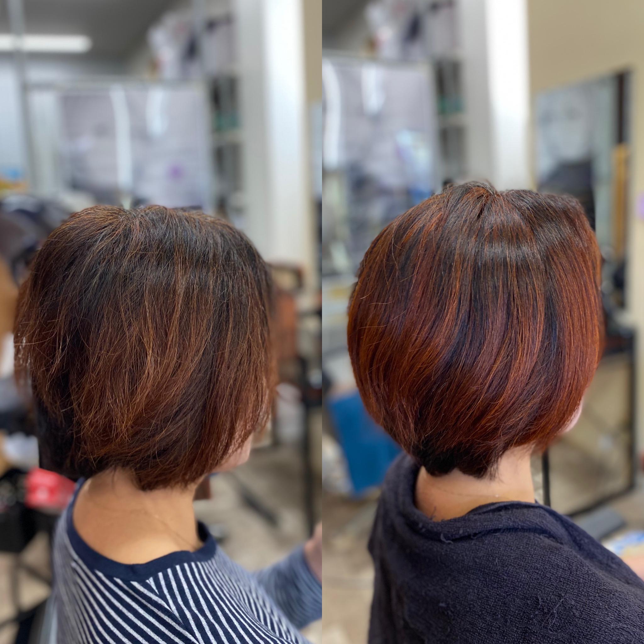 純国産天然100%ヘナで髪質改善