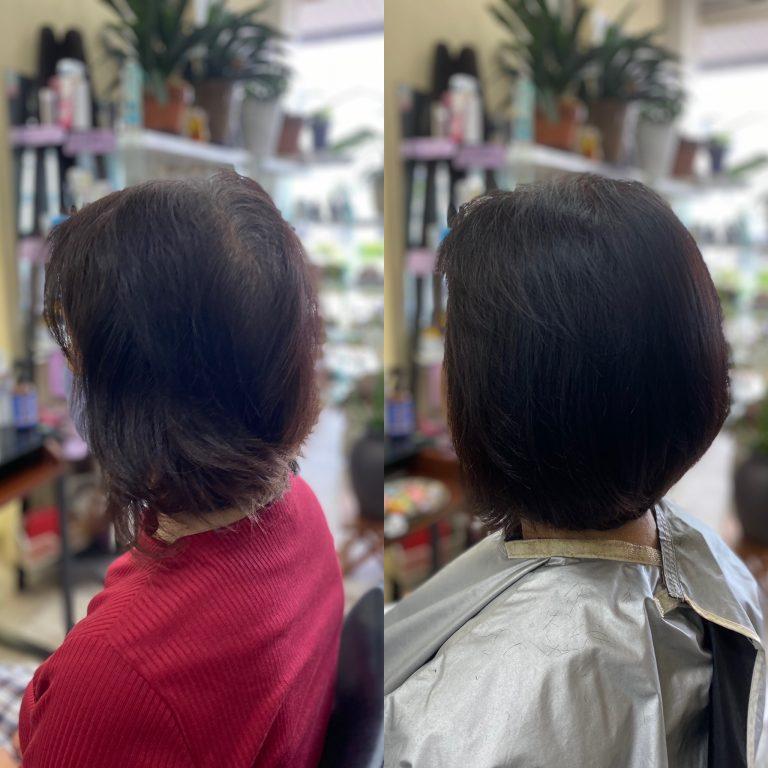 薄毛の原因を知って、カバーする
