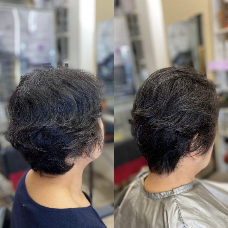くせ毛がお手入れし易くなると、乾かすだけで良い感じ